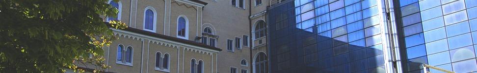 Veduta parziale del polo universitario goriziano