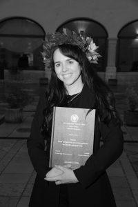 foto di Margherita Marchiol, testimone corsi di laurea