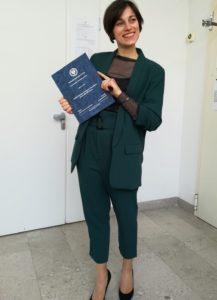 foto di Romanello Alessandra, testimone corsi di laurea